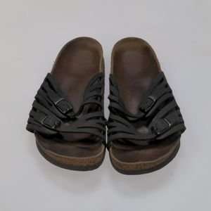 Birkenstock Black Sandals Size 39
